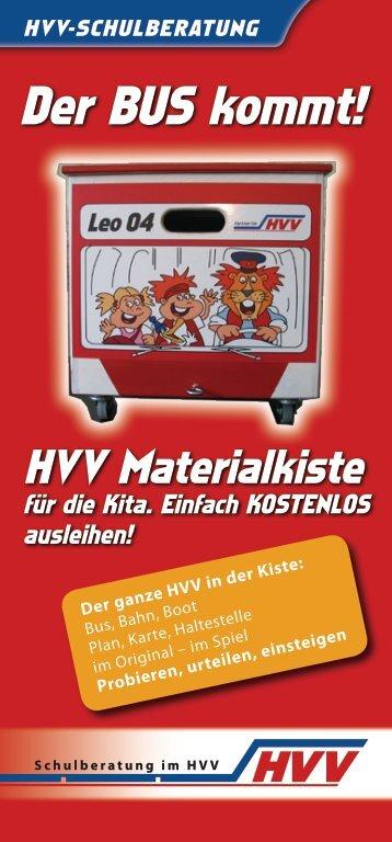 Informationsblatt zur Materialkiste - Kinder tun was!