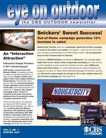 Winter 2007 - CBS Outdoor