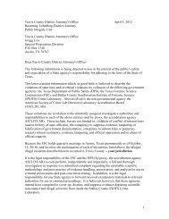 1 Travis County District Attorney's Office April 3, 2012 ... - YNN.com