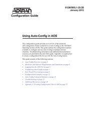 Configuration Guide Using Auto-Config in AOS - ADTRAN Support ...