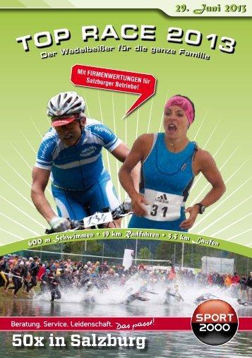 Ausschreibung 2013 - Top Race