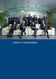Letter to Shareholders - Annual Report 2012 - Snam