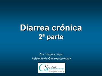 diarrea cronica 2.pdf - Clínica de Gastroenterología.