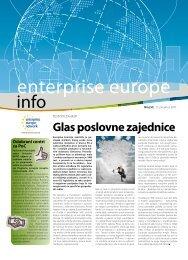 Glas poslovne zajednice - Europska poduzetnička mreža Hrvatske