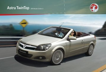 Astra TwinTop 2009 Models Edition 2 - Pentagon Vauxhall