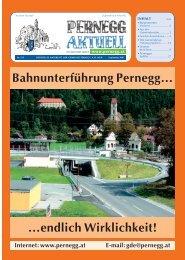 Die Gemeindevertretung gratuliert… - Gemeinde Pernegg