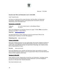 München, 17.02.2009 Zooreise nach Wien und Herberstein vom 21 ...