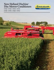 New Holland Discbine® Disc Mower-Conditioners
