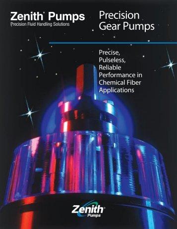 Zenith® Pumps Precision Gear Pumps - LUBOSA