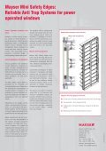 Mayser Anti Trap Systems for power operated windows (153 KByte) - Page 2