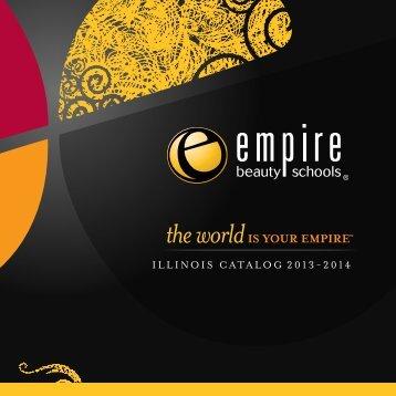 ILLINOIS CATALOG 2013-2014 - Empire Beauty School
