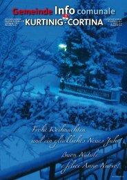 Frohe Weihnachten und ein glückliches Neues Jahr! Buon Natale e ...