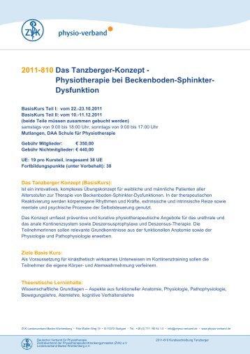 2011-810 Das Tanzberger-Konzept ... - Physio-Verband