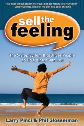Download Sell the Feeling e-book - The Referral Code