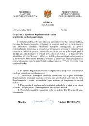 Ordin Nr. 646 din 21.09.2010 cu privire la aprobarea ...