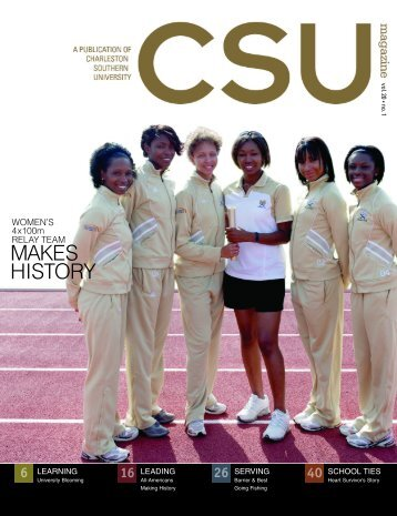 Spring 2010 - Charleston Southern University