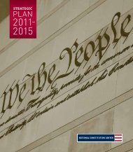 2011 – 2015 Strategic Plan - National Constitution Center