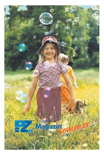 """Magazin """"Sommer"""" mit Trends & Tipps - Pirmasenser Zeitung"""