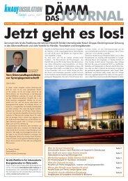 DÄMM JOURNAL - Energieausweis