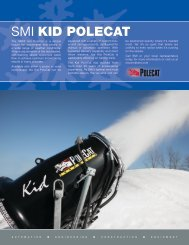 SMI KID POLECAT - Snow Machines, Inc.