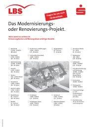 Chart Modernisierung - Taunus Sparkasse