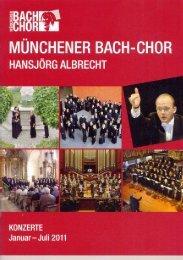 Untitled - Münchener Bach-Chor