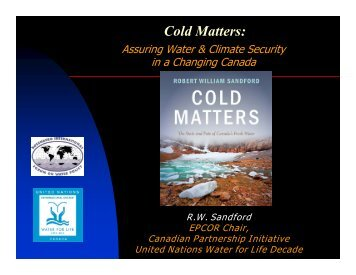 Cold Matters: - Atlantic Climate Adaptation Solutions