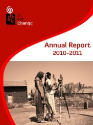 Annual Report (2010-2011) - IT for Change