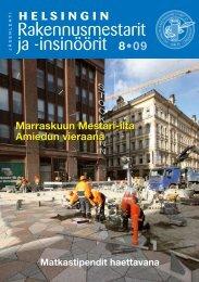 Yhdistyksen jäsenlehti 8 /09, PDF tiedosto - Helsingin ...
