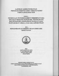 laporan akhir penelitian program insentif riset terapan ... - KM Ristek