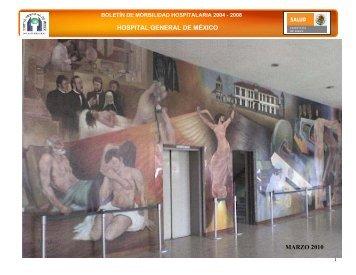 boletín de morbilidad hospitalaria 2004 - Hospital General de México
