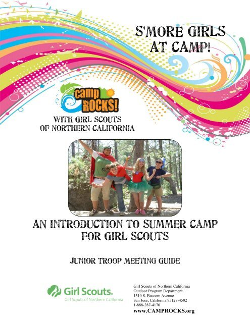 Junior S More Girls To Camp Troop Meeting Guide 1 Girl Scouts Of