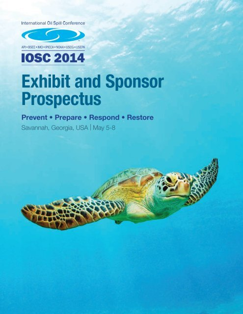 View the Sponsor and Exhibitor Prospectus - International Oil Spill ...