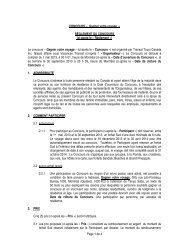 CONCOURS « 20 ANS DE VACANCES » - Transat, Inc.