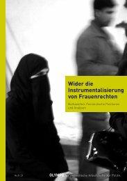 Wider die Instrumentalisierung von Frauenrechten - Archiv für ...