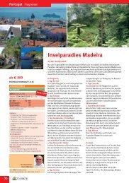Inselparadies Madeira