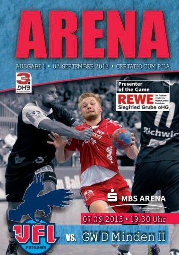 VS. GWD Minden II - 1. VfL Potsdam