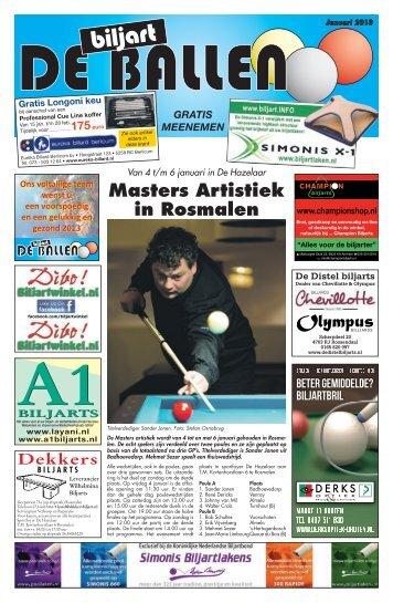 Masters Artistiek in Rosmalen - De Biljart Ballen