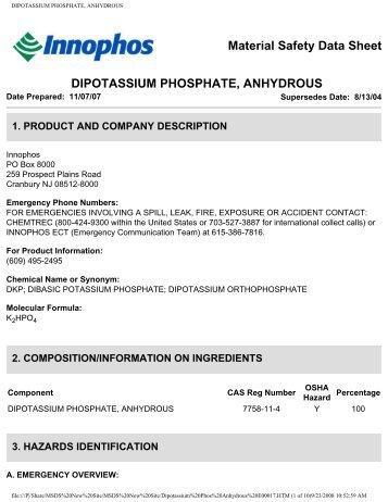 Dipotassium Magazines