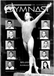 Winter - Gymnastics Australia