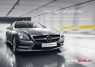 Invitation personnelle - Mercedes-Benz Automobil AG