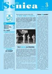na APRÍL 2003 - Mesto Senica
