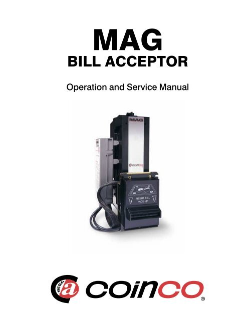Vending Machine Bill Acceptor Troubleshooting