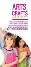 Arts, Crafts and Creativity - Hutt City Council