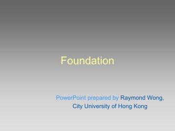 Foundation Technology (PDF) - City University of Hong Kong
