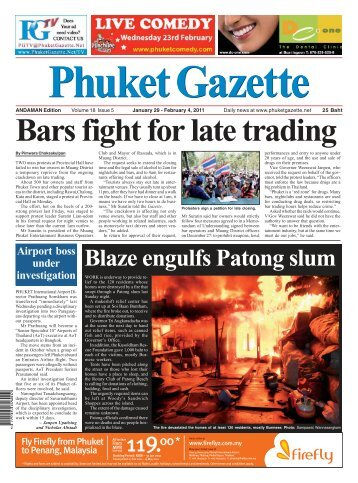 January 29, 2011 - Phuket Gazette