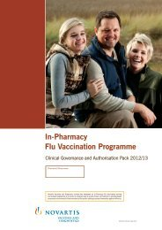 In-Pharmacy Flu Vaccination Programme