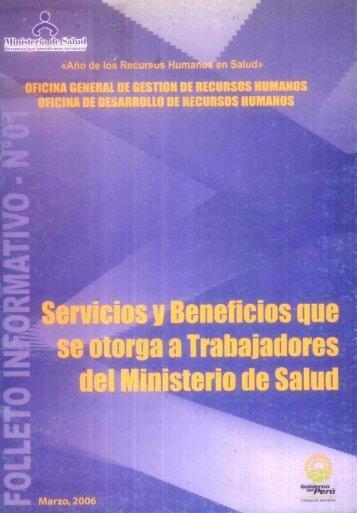 razón social - Bvs.minsa.gob.pe - Ministerio de Salud