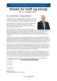 Klinikk for kreft og kirurgi - Ous-research.no