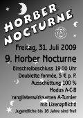 ÷ Separates Turnier pro Alterskategorie ÷ Doublette formée ÷ Poule ... - Seite 2